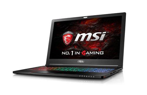 MSI NB GS63VR 6RF STEALTH PRO I7-6700HQ 16GB 256GB SSD + 2TB 15.6 FHD ANTI-GLARE GTX 1060 6GB WIN 10 HOME (1000028374)