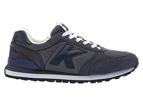 Kelme Charles, Baskets Basses Mixte Adulte gris