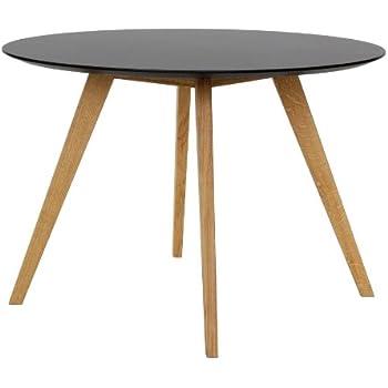 Tisch design rund  Tenzo 2181-024 Bess - Designer Esstisch rund, schwarz, Tischplatte ...