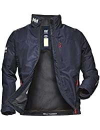 Helly Hansen Crew Midlayer Chaqueta deportiva impermeable, Hombre, Azul (Azul Navy 597), XS