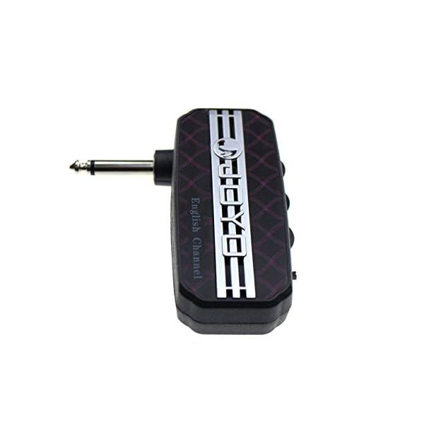 Joyo JA-03 English Channel - Amplificatore tascabile per chitarra, modulazione a effetti sonori