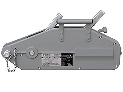 Rotek Seilzug SZ-1600, Kapazität 1.600kg inkl. 20, 40 oder 60m Spezialseil auf Haspel