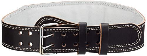 Chiba Trainingshilfe-Gürtel Leder Trainingsgürtel, schwarz, L