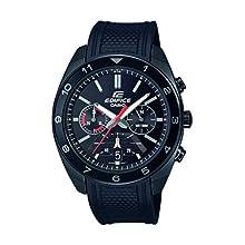 Casio Mens Analogue Japanese Quartz Watch with Rubber Strap EFV-590PB-1AVUEF