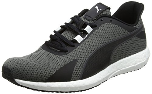 Puma mega nrgy turbo, scarpe sportive outdoor uomo, nero (black-shocking orange), 44 eu