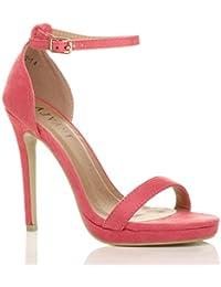 Sandali rosa con punta aperta per donna Show Story