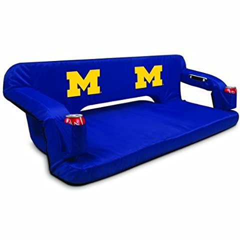 NCAA Michigan Wolverines Reflex Portable Travel Couch by Picnic Time