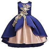 i-uend 2019 New Baby Kleid - Kinder Mädchen Prinzessin Brautjungfer Pageant Kleid Geburtstag Party Hochzeitskleid Für 1-7 Jahre