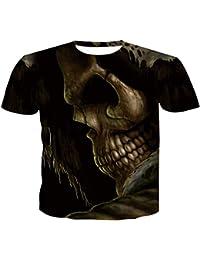 0d964679a5 CJJEE Camiseta 3d Animal Lobo Camisetas 3D Hombres Camisetas Novedad Animal  Tops Camisetas Hombre De Manga