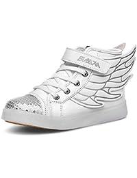 DoGeek Scarpe LED Bambino Scarpe con Luci Luminosi Sneakers con Luce nella  Suola Bright Tennis Scarpe 2828aef2879