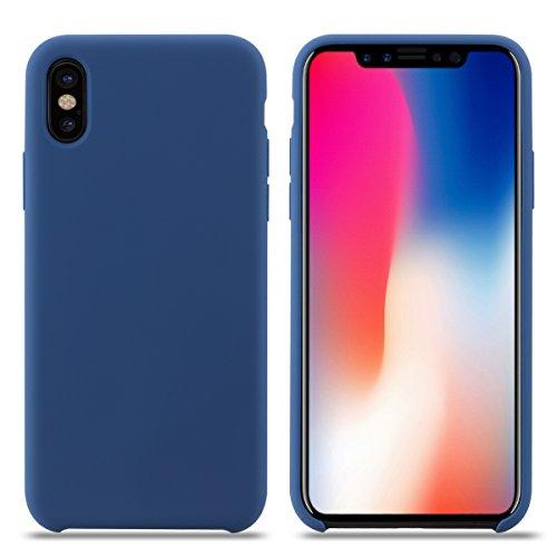 Custodia Iphone X Silicone Morbido Anti-caduta Cover Iphone X