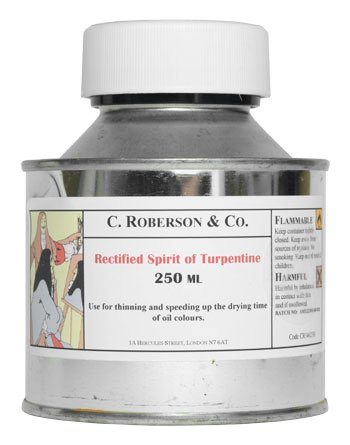 roberson-rectified-spirit-of-turpentine-250ml-by-road-parcel-only