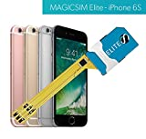 MAGICSIM ELITE pour iPhone 6/6S - Adaptateur Dual SIM