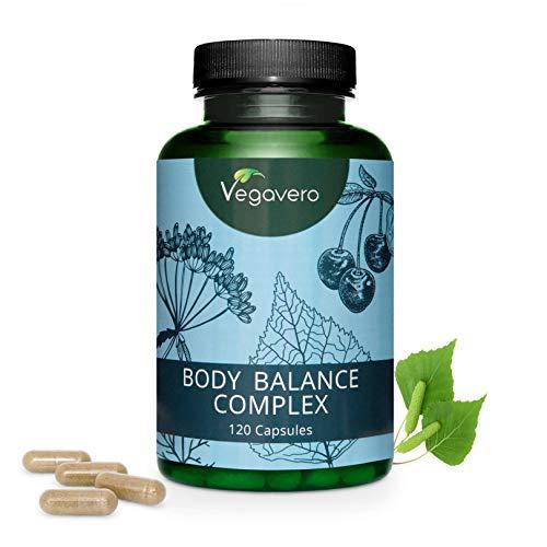 Drenante naturale vegavero® | depurativo - ritenzione idrica - diuretico | solo a base di estratti vegetali | senza additivi | 120 capsule | vegan