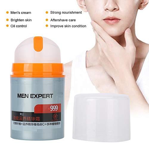 Crema facial para hombres, hidratación profunda, hidratación nutritiva, control de aceite, crema para el cuidado de la piel, suplemento de humedad, 50 ml