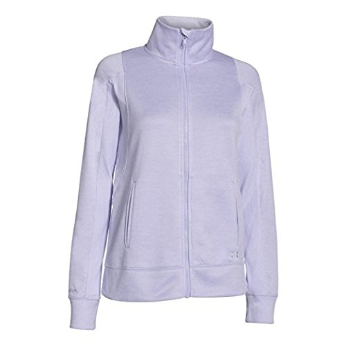 UA Infrarot Full Zip Jacke - Damen Lavendel Ice Twisted / LIC XS (Twisted-zip)