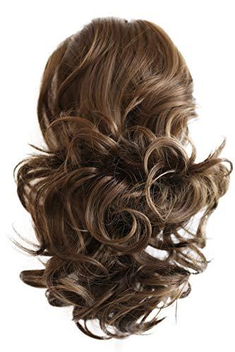 PRETTYSHOP 40cm Haarteil Zopf Pferdeschwanz Haarverdichtung Haarverlängerung VOLUMINÖS 40cm braun #9 PH204
