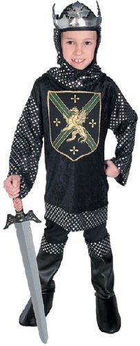 Rubies Costume Co R38806-L Warrior King Kinderkost-m Gr--e - Warrior King Kostüm Kind