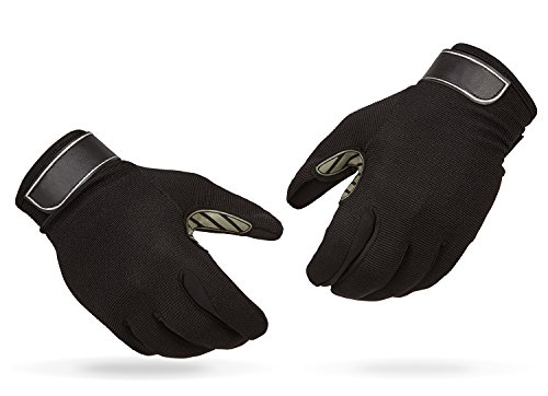 Raubfisch Handschuhe Anglerhandschuhe Schwarz M