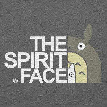 Texlab–The Spirit Face–sacchetto di stoffa Grau