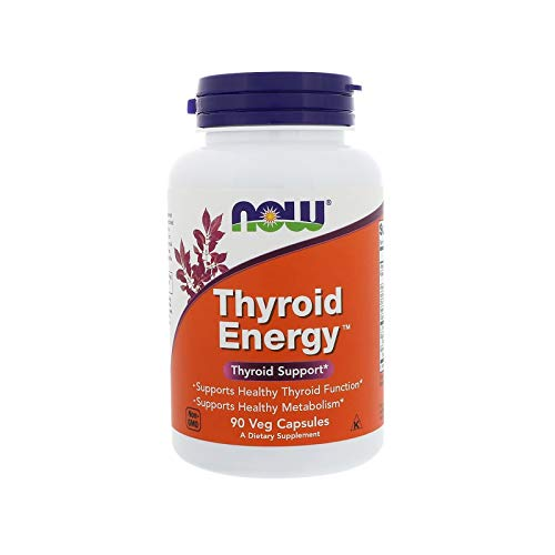 NOW FOODS - THYROID SUPPORT and ENERGY - 90 Gélules Végétales