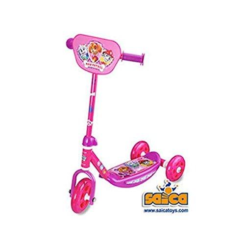 Patrulla Canina - Patinete con 3 ruedas para niña (Saica 2208)