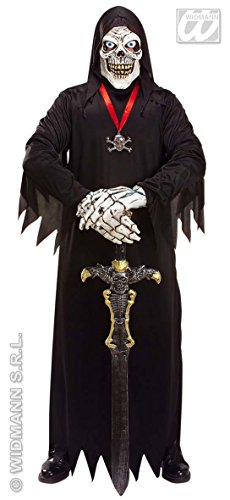 ostüm M/L Tod mit Maske und Händen ()