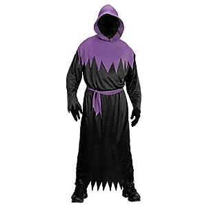 WIDMANN Guerrero Túnica con capucha y una máscara de la cara invisible Color negro L 00103