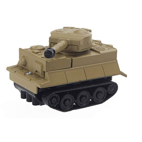 Jamicy Magischer induktiver Panzer [folgt schwarzer Linie] Magisches Spielzeugauto für Kinder & Kinder, pädagogische Puppen, Weihnachtsgeburtstagsgeschenk für Kinder (Braun)