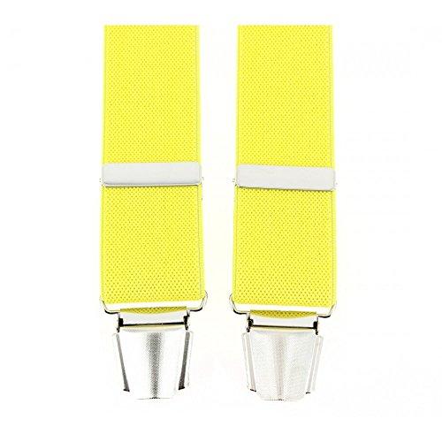 Tony & Paul Men's Plain Braces yellow yellow