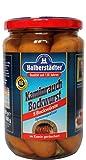 Halberstädter Bockwurst i.z.Naturd. - 5 St. Glas mit Ostalgie-Karte Alles Gute