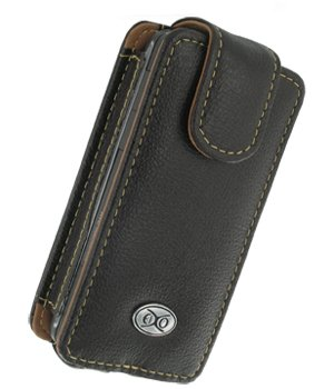 EIXO Luxus Ledertasche für HTC Touch pro Flipstyle, Flip-Style Lederhülle, Ledercase, Lederetui, Case, Etui 100% passend, PDA, Pocket PC Htc Touch Pocket Pc