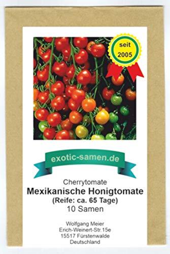Mexikanische Honigtomate - Cherrytomate - sehr ertragreich - toller Geschmack - 10 Samen