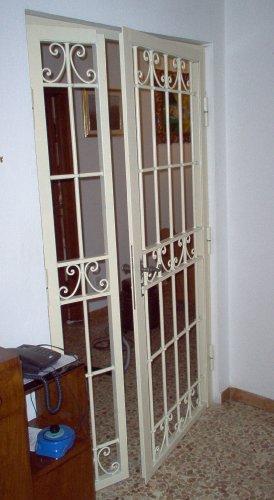 Cancello portone ferro battuto . realizzazioni personalizzate . 587