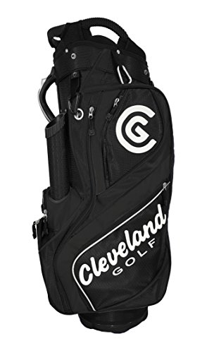 Cleveland Golf CG Light Cart Sac du Golf, Noir/Blanc