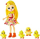 Enchantimals Muñeca Dinah Duck con Su Mascota el Pato Slosh (Mattel Gjx45)