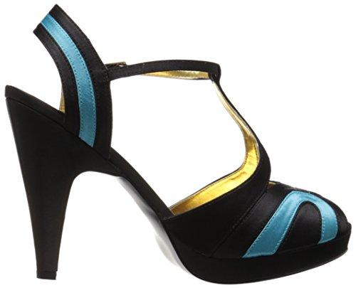 Bordello GIG02/BBLU/SAT Sandales Femmes Multicolore