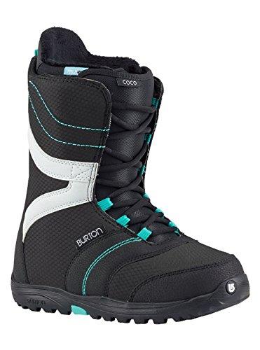 Burton Damen Coco Snowboardboots, Black/Teal, 6.0 Teal Snowboard-boots