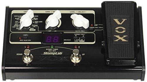 Vox STOMPLAB2G - Pedal multiefecto para guitarra (batería alcalina)