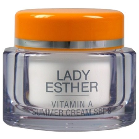 Lady Esther Cosmetic Vitamin A Summer Cream SPF 8 Lady Make-up