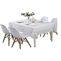 Mesa De Comedor De Mesa De Pvc Blanco Moderno Simple Mesa De Comedor De Mesa Desechable Impermeable Y Libre De Aceite