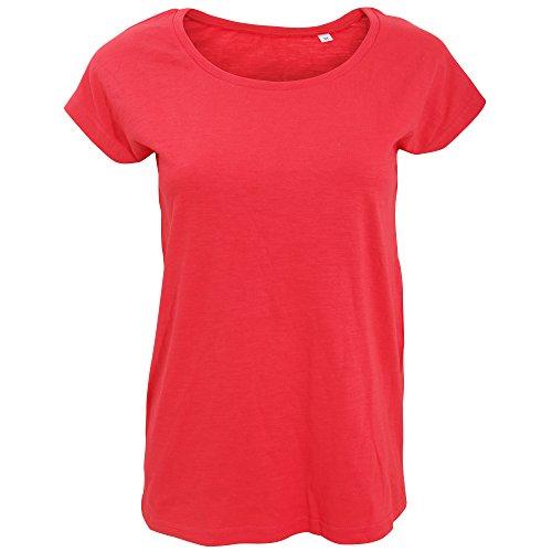 SOLS - T-shirt à manches courtes - Femme Blanc