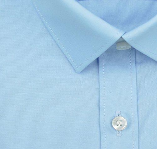 Olymp Herren Hemd No. 6 Super Slim Fit Langarm Bleu