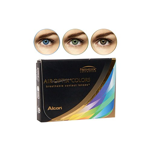 Bausch + Lomb Air Optix COLORS - Farbe:Amethyst Monatslinsen/BC 8.6 mm/DIA 14.2 mm/-1.25 Dioptrien