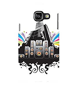 PRINTSHOPPII MUSIC Back Case Cover for Samsung Galaxy A7 (2016) Duos