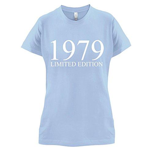 1979 Limierte Auflage / Limited Edition - 38. Geburtstag - Damen T-Shirt - 14 Farben Himmelblau