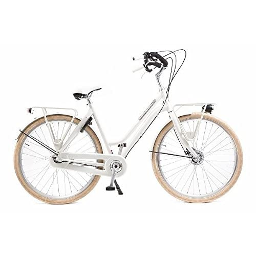 41LwDD YNKL. SS500  - Avalon Move 28 Inch 55 cm Woman 3SP Roller brakes Ivory white