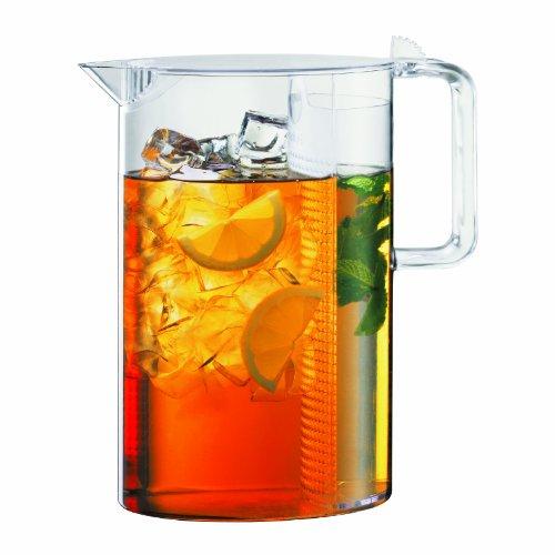 Bodum Ceylon - Jarra de agua, 1,5 l, filtro para té frío...