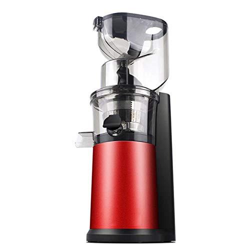 Saftmaschine GroßEn Durchmesser Langsame Geschwindigkeit Squeeze Juicer Hause Multi-Funktions-Mini-Sojabohnen-Milchmaschine Kommerzielle Lebensmittelmaschine,Chinesered (Juicer, Orange Kommerzielle)