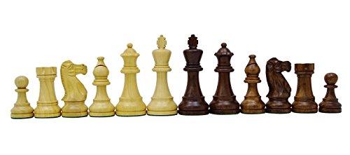 Chessmate Handgefertigte Schwere Ritter Goldene Rose Holz Staunton Schachfiguren Königshöhe 96 Mm Geschenk Für Ihn